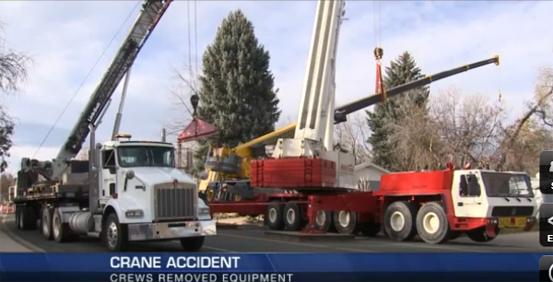 More cranes rescue tipped GMK3050 crane in Ft  Collins