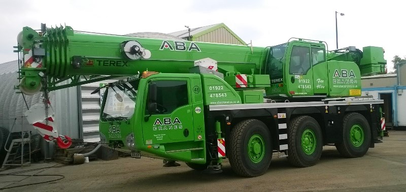 ABA Crane Hire has taken delivery of its first Terex crane  ⋆ Crane