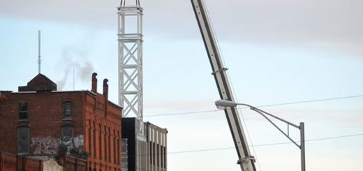 Utica Bank Clock Tower Photo Credit John Matthews Photography