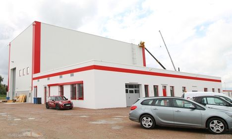 Manitowoc's new Product Verification Centre in Wilhelmshaven, Germany