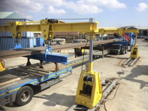 Enerpac Integrated Solutions hydraulic gantries