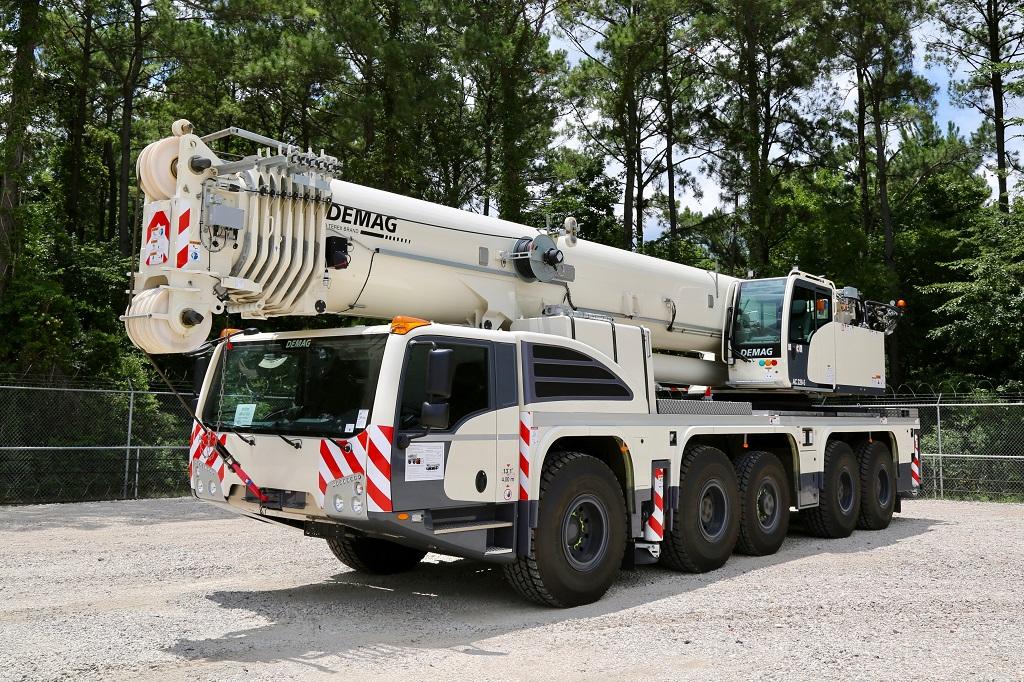 CraneWorks Demag AC 220-5 crane