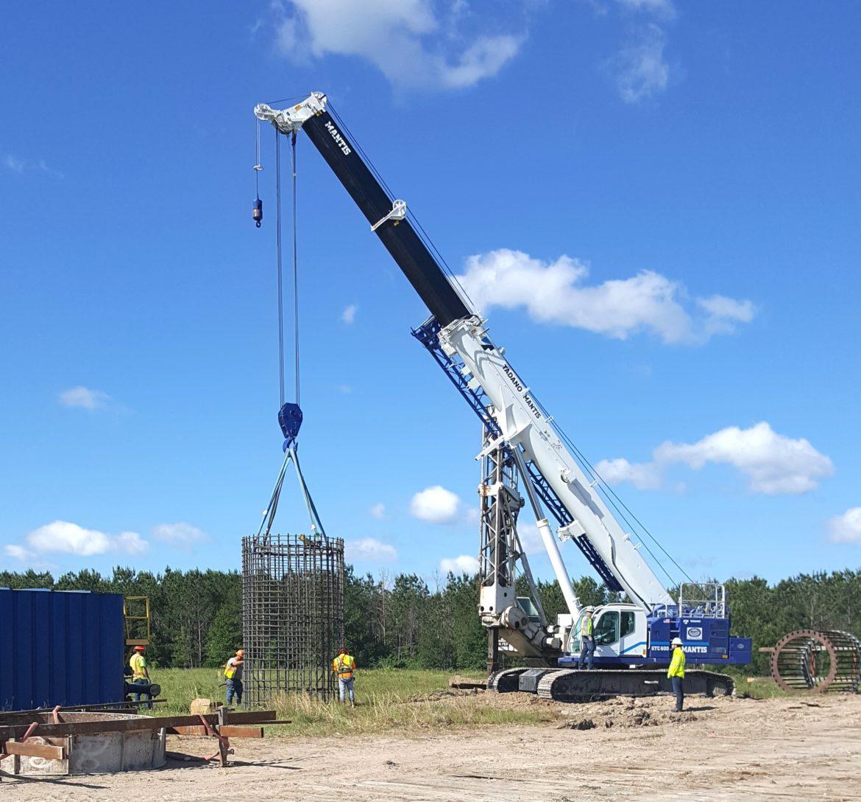 Tadano Mantis GTC-600 Telescopic Crawler crane