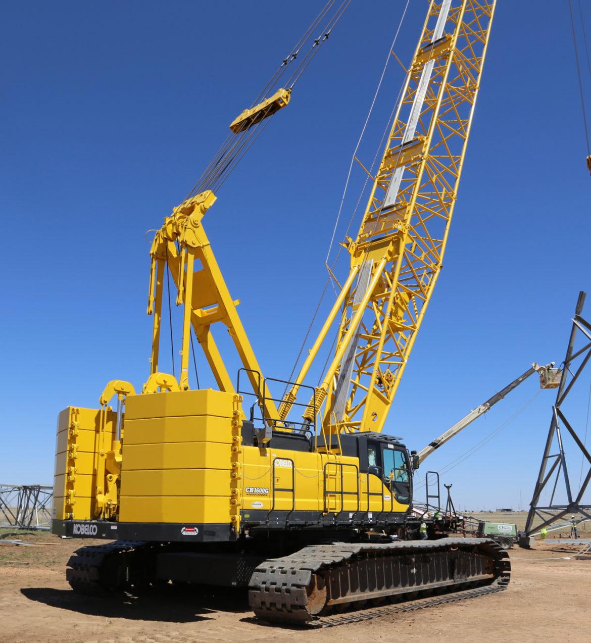 kobelco ck series crawler crane