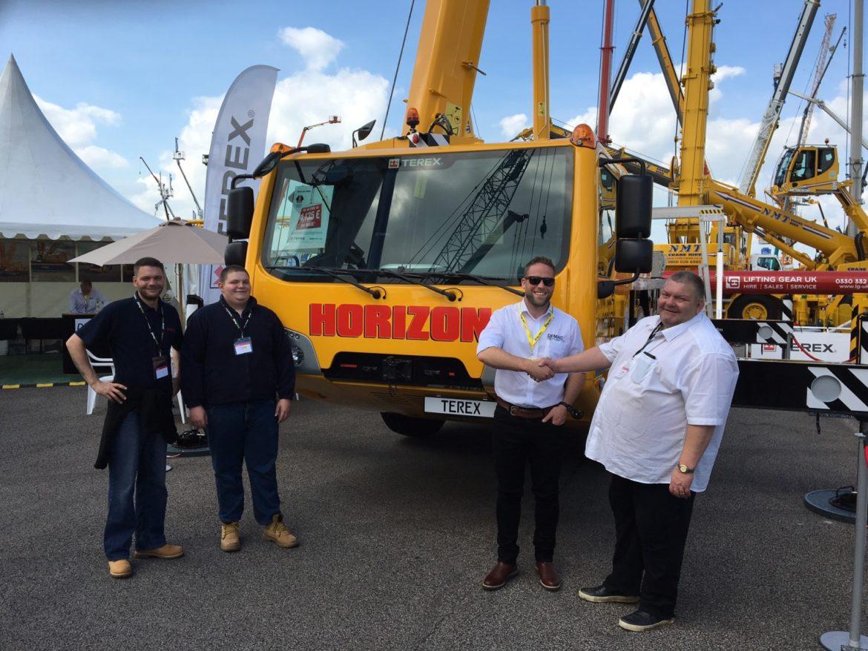 terex ac 40/2l crane hire