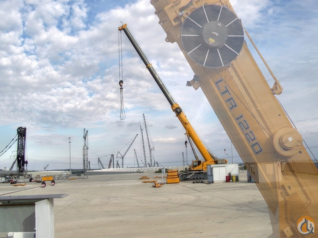 Telescopic Crane Training : Featured crane liebherr ltr telescopic boom crawler