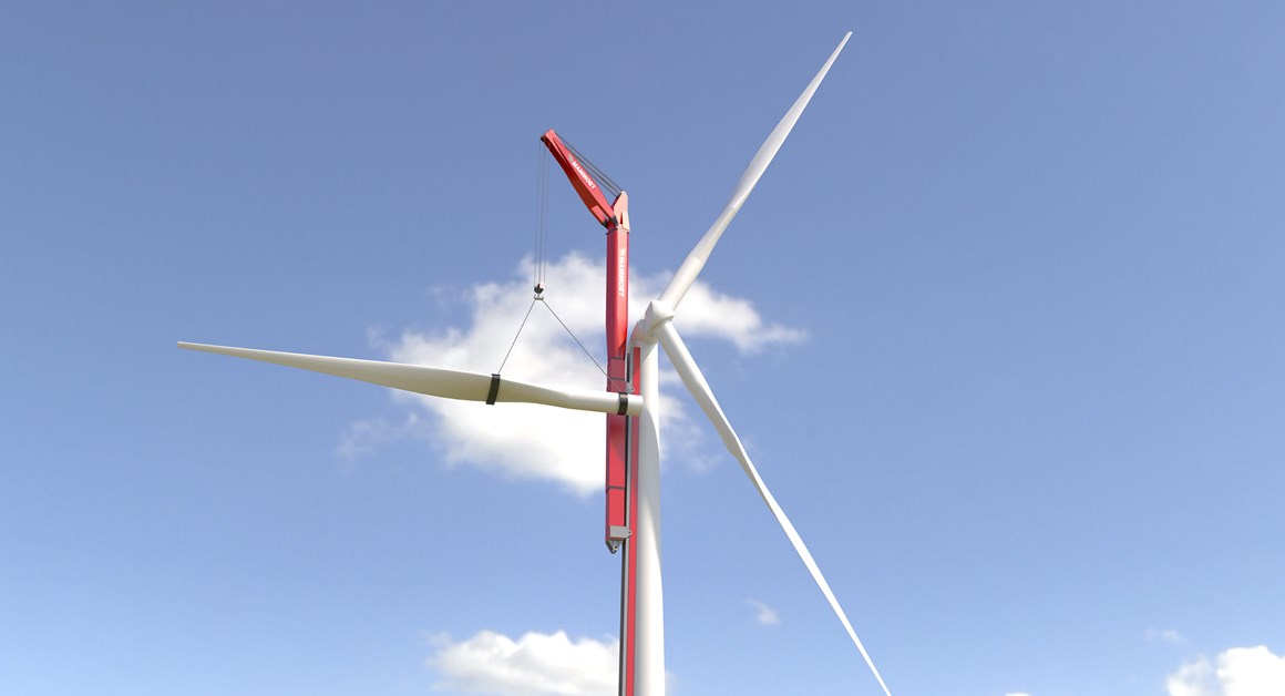Mammoet Designs Wind Turbine Cranes For Construction And Maintenance