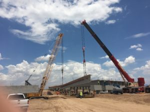 mike madge AZ-202 bridge girder job