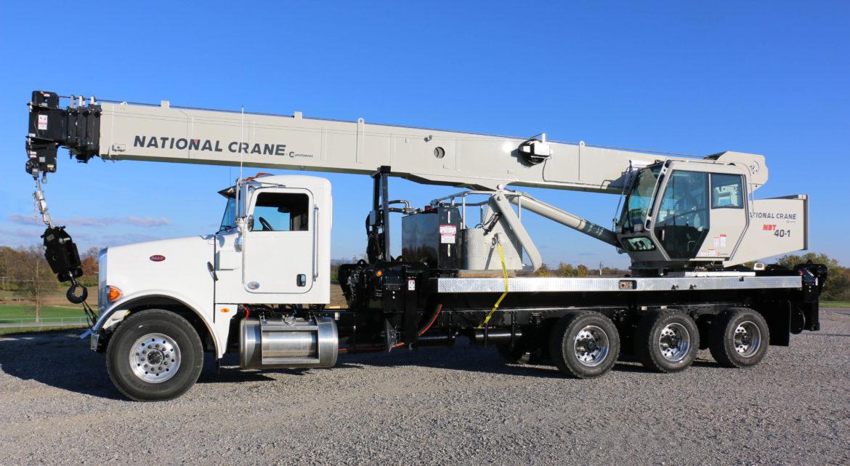 National Cranes boom truck