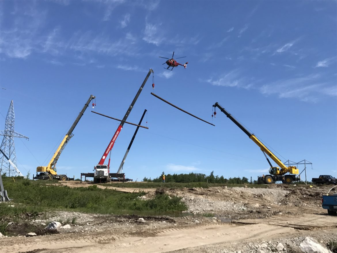 capital crane tandem lifts