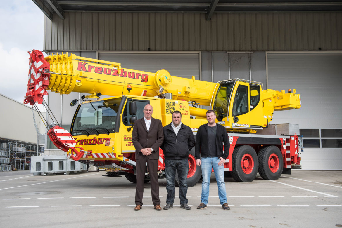 liebherr industrial relocation
