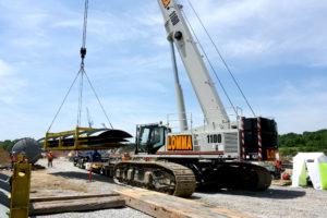 link-belt tcc-1100 and tcc-1400 telescopic crawler cranes