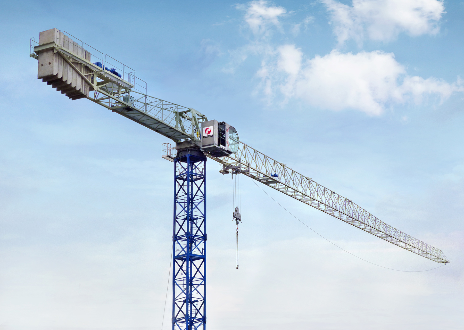 Raimondi Introduces MRT234 Flat-Top Tower Crane ⋆ Crane ...