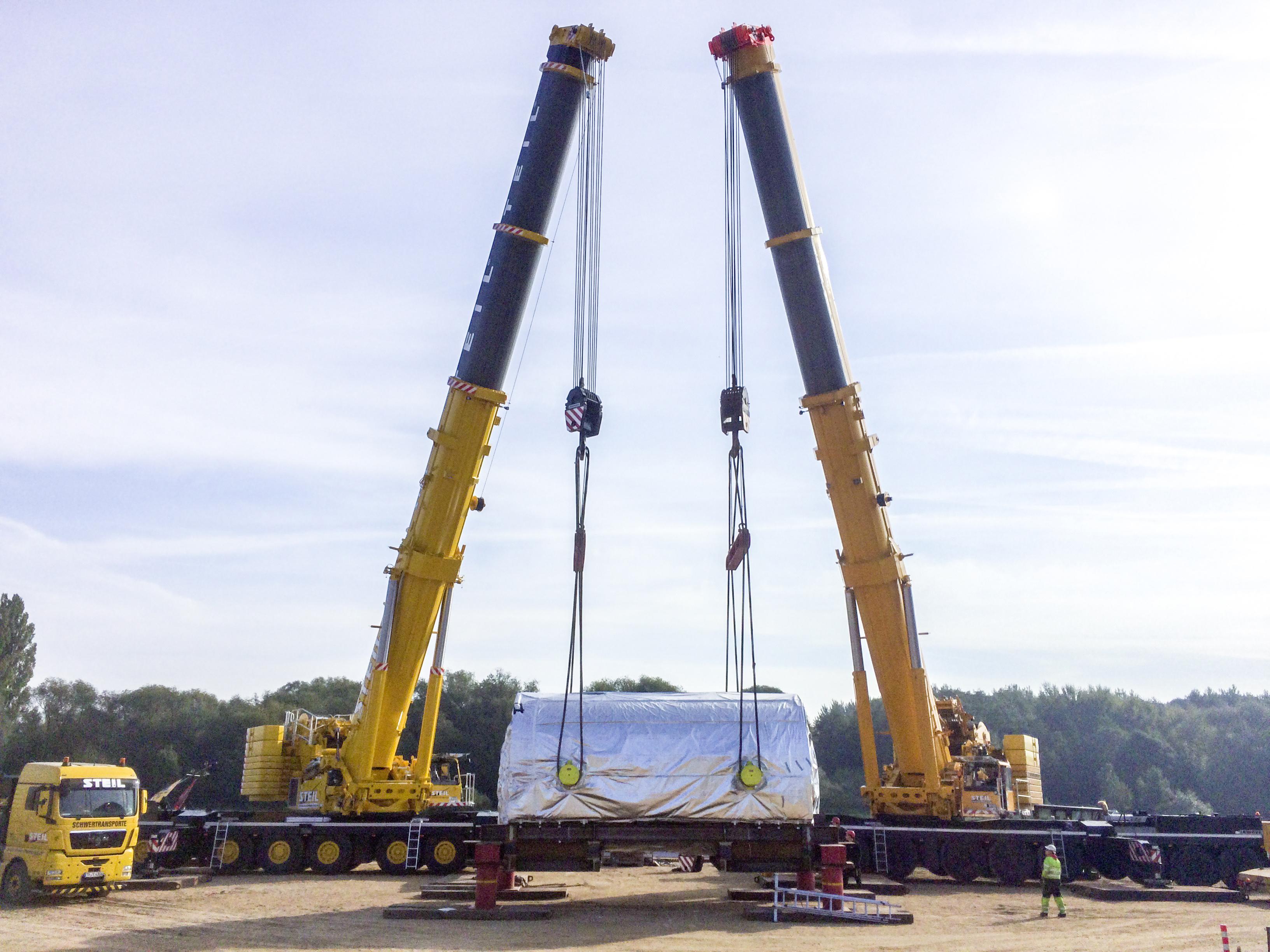 New Liebherr LTM 1500-8 1 All Terrain Crane For Steil