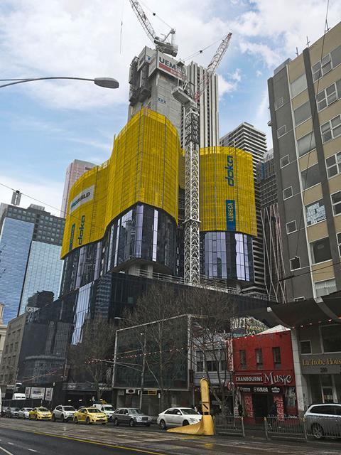 Melbourne CBD's tallest tower
