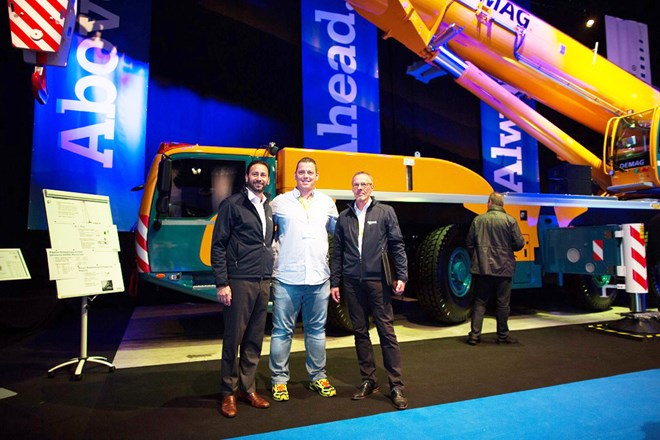 Eschbach orders first Demag AC 300-6 in Germany