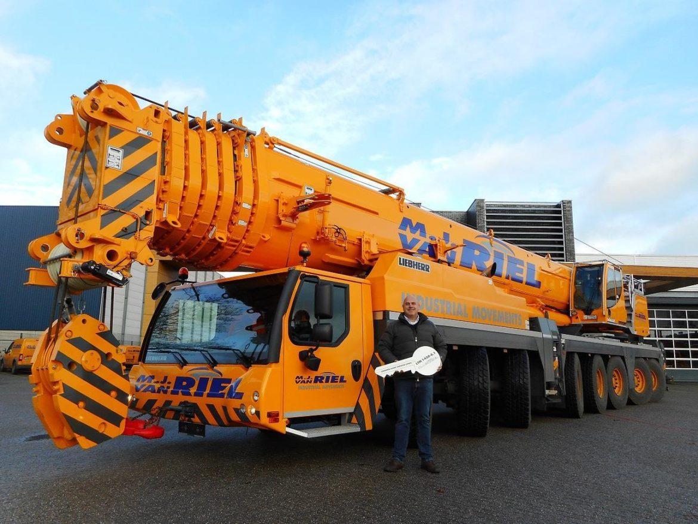 MJ van Riel adds Liebherr as flagship