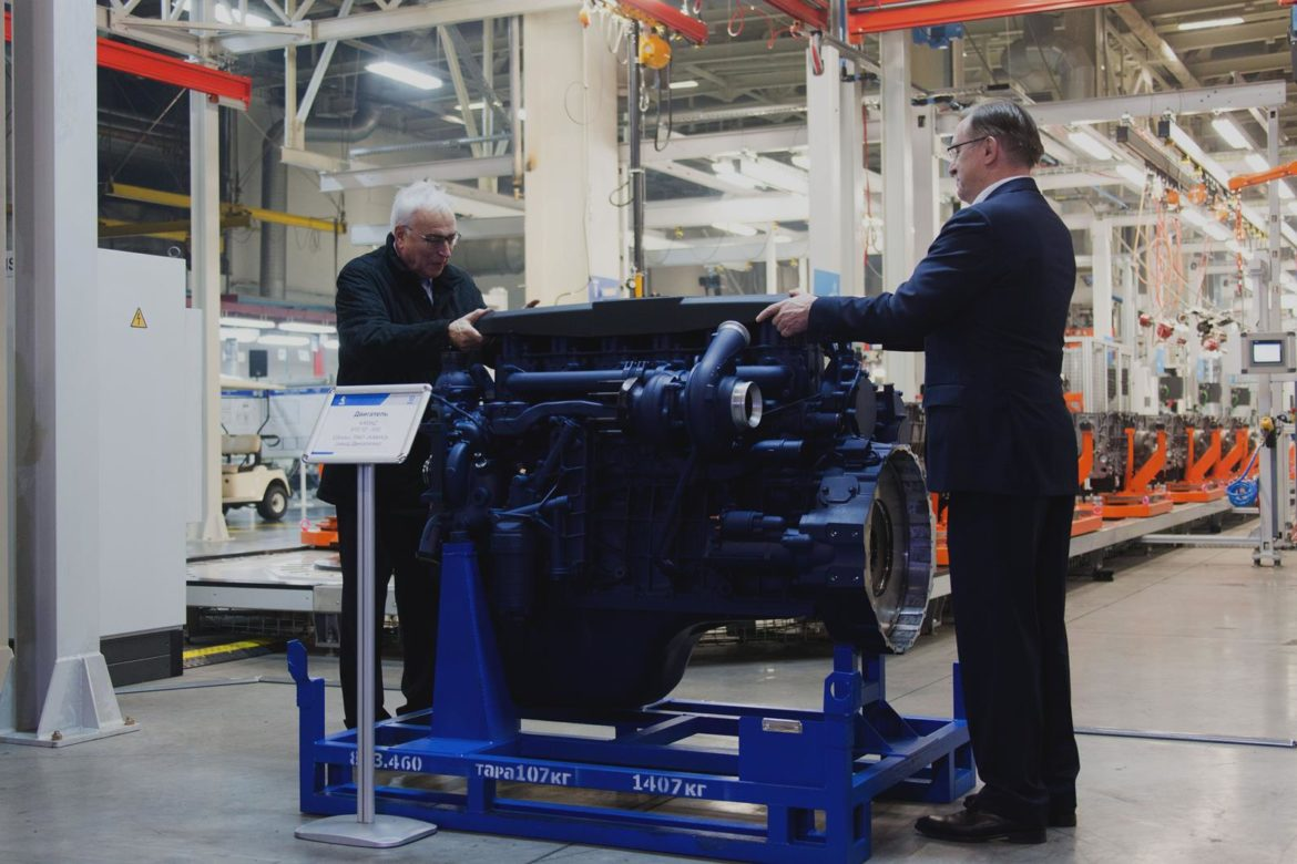 New diesel engine from Liebherr and Kamaz
