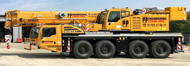 New Demag AC 100-4L for PP Engineering ⋆ Crane Network News