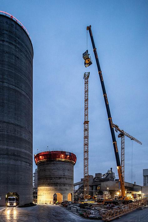 Saving time with Liebherr mobile crane LTM 1450-8 1 ⋆ Crane Network