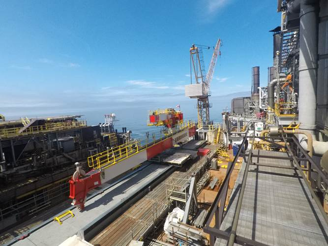 Large-scale conversion project on offshore platform ...