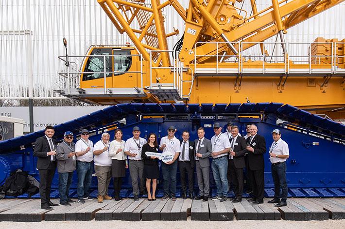 Liebherr delivers more crawler cranes to Bigge ⋆ Crane