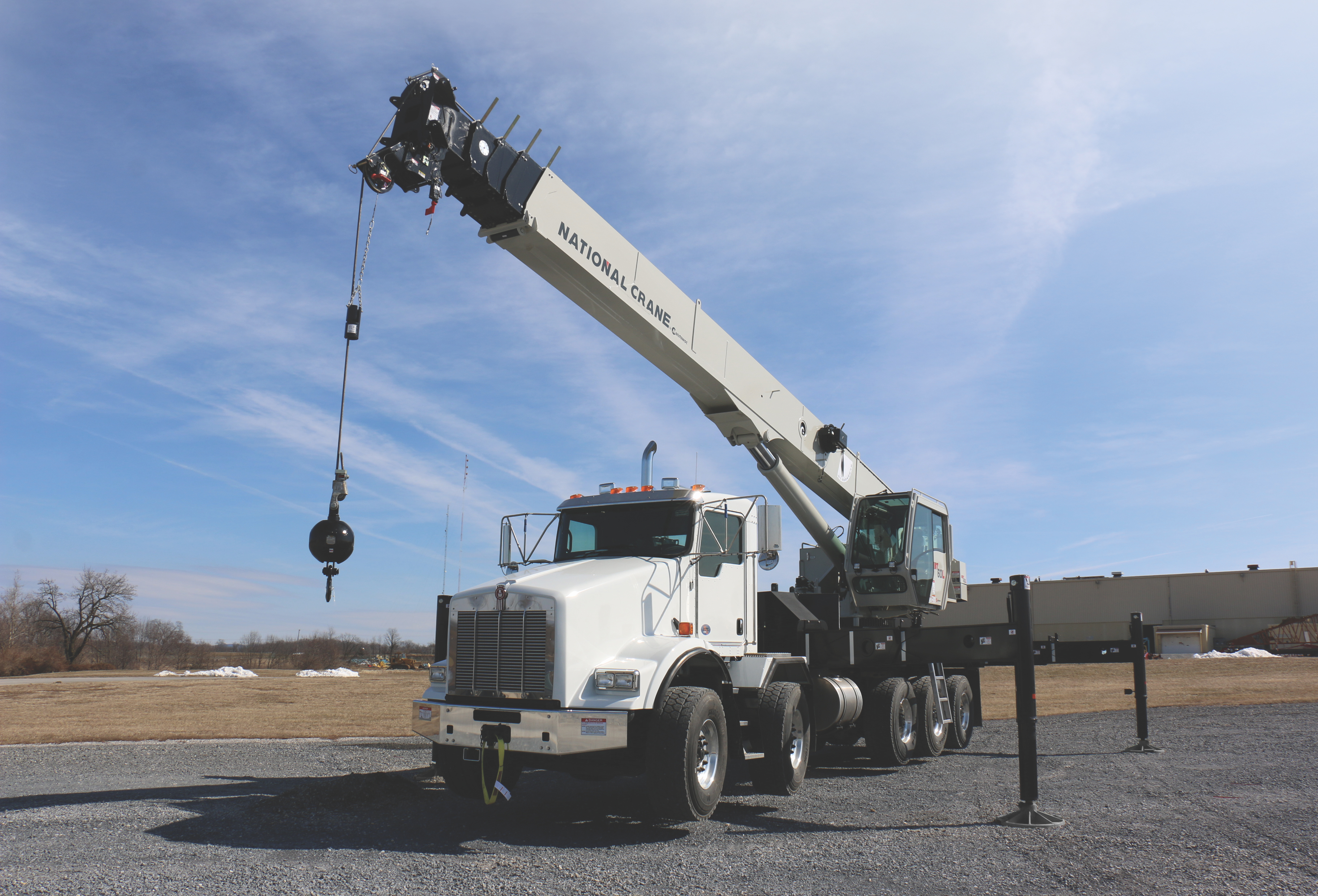Manitowoc launches new National Crane NBT60L boom truck ⋆ Crane Network News