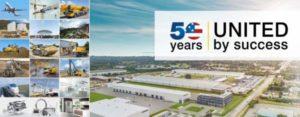 Liebherr USA 50 Year